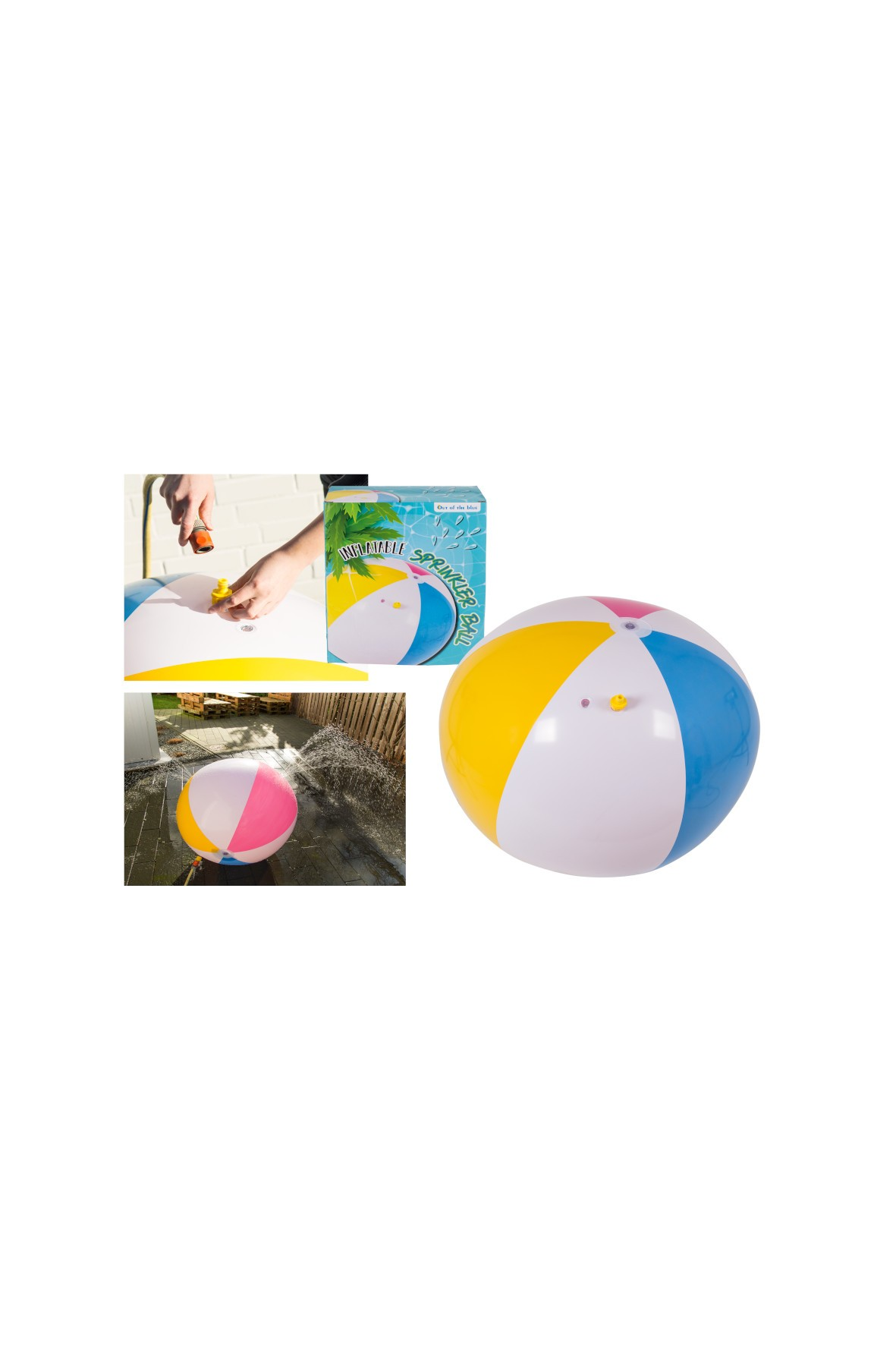 Piłka plażowa - 20x9x25 cm