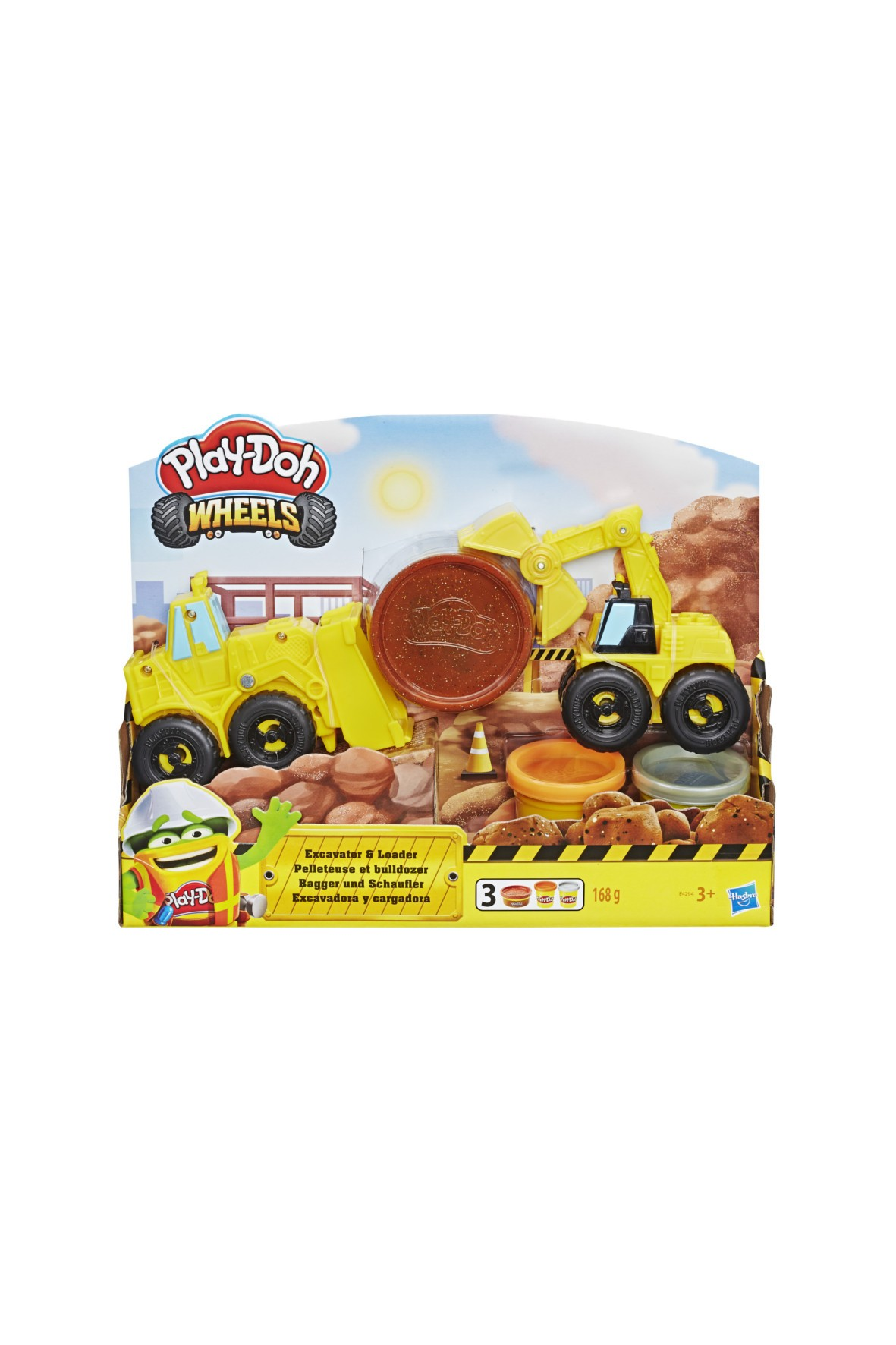 Play-Doh Wheels Koparka