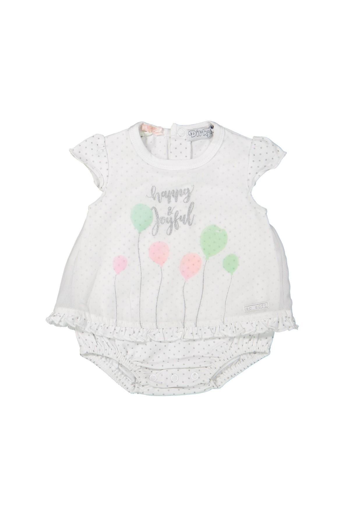 Body dla niemowlaka z kolorowym nadrukiem