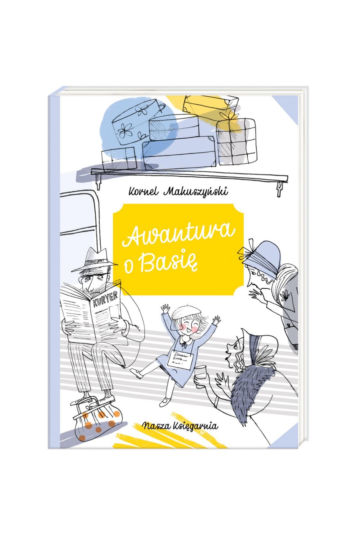 Książka -Awantura o Basię