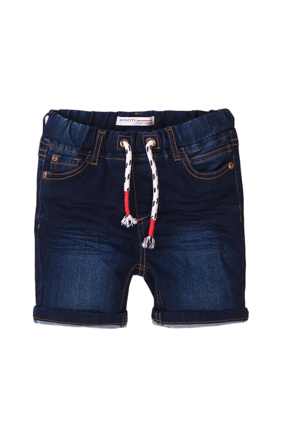 Szorty niemowlęce jeansowe- granatowe