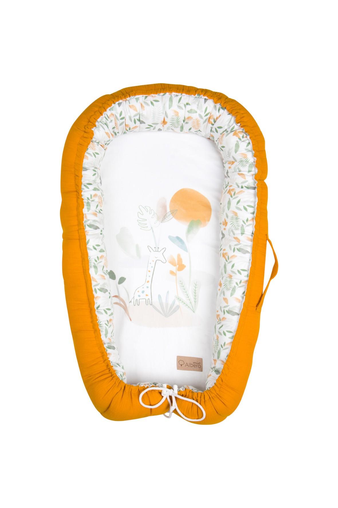 Kokon niemowlęcy Safari - 80x45 cm