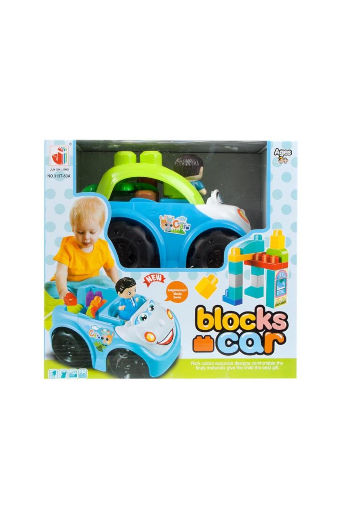 Auto z klockami Mega Creative 3+