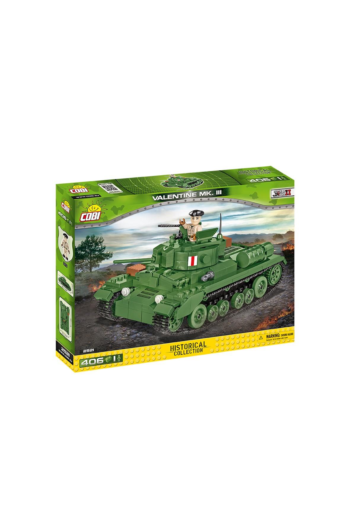 Klocki Cobi Small Army Ainfantry Tank MKIII Valeritin 406el