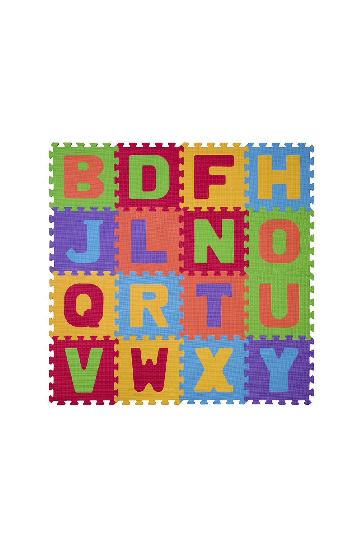 Puzzle piankowe alfabet 16szt