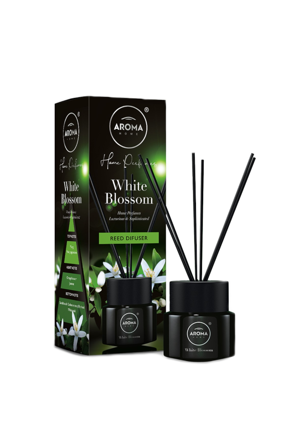 Aroma Home & Dorota Patyczki zapachowe  White Blossom 100ml