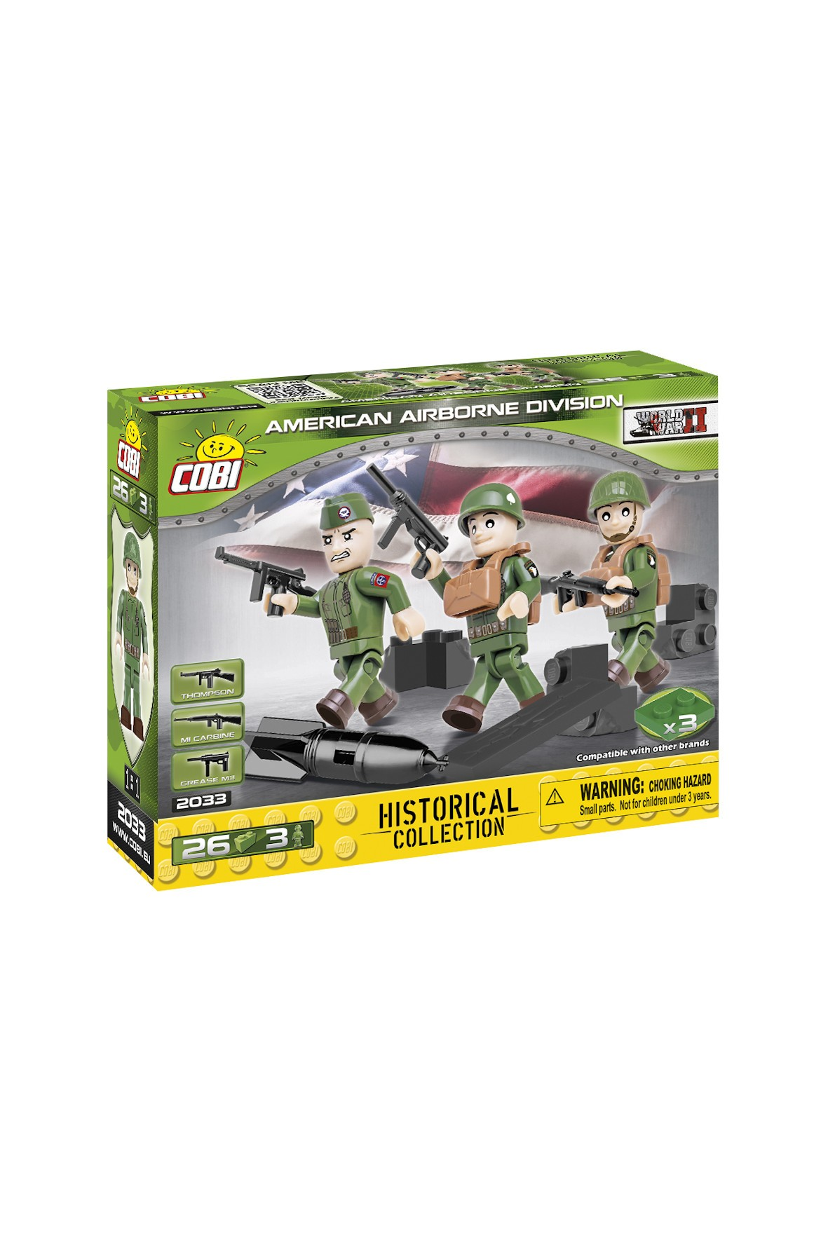 Klocki COBI American 101 ST Airborn Division