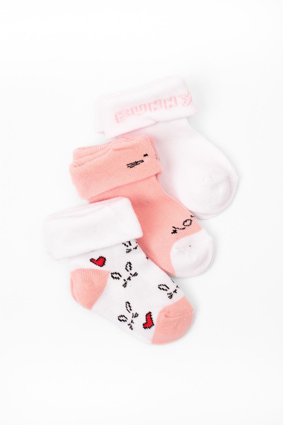 Skarpety dla niemowlaka 3-pak