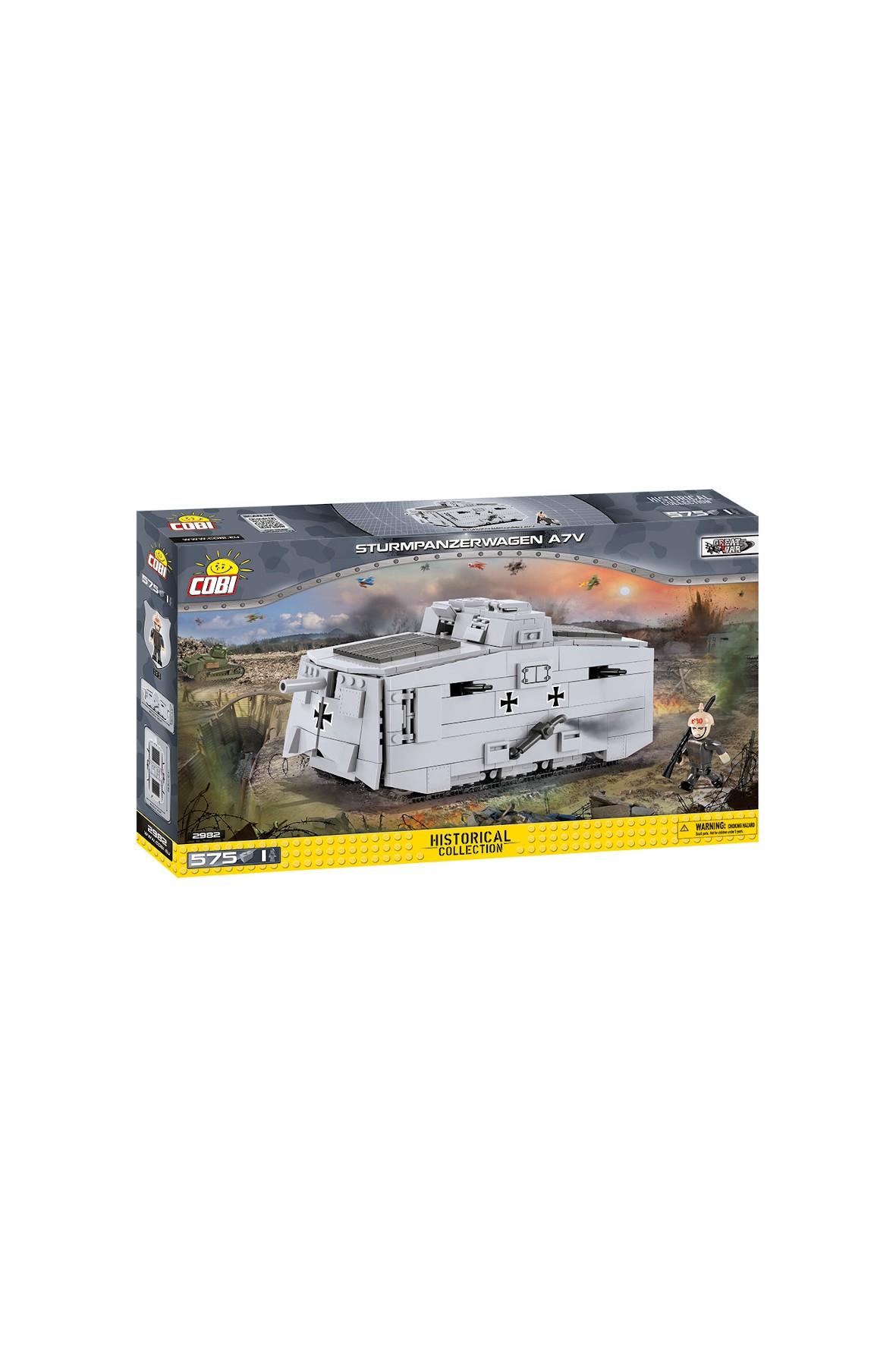 Klocki Cobi Small Army Sturmpanzerwagen ATV 575el