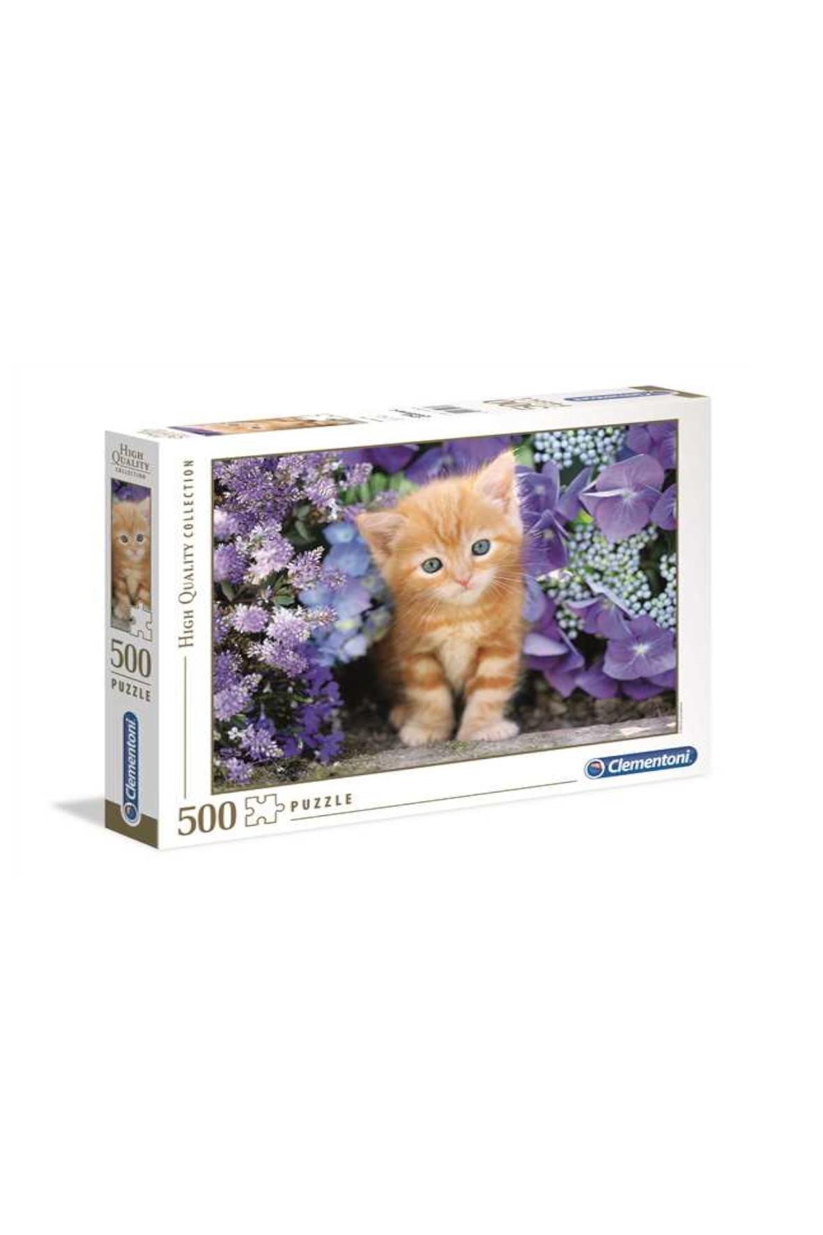 Puzzle Rudy kotek - 500 elementów