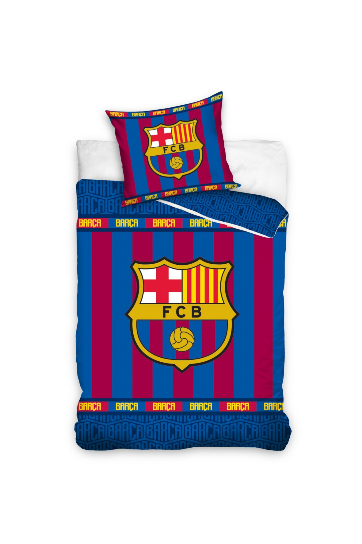 Pościel FC Barcelona 160x200cm