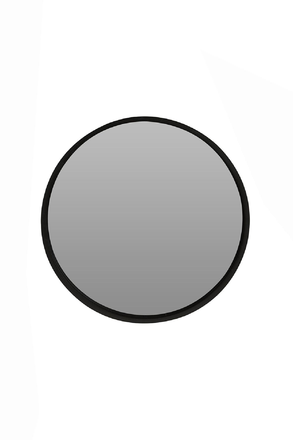 Lustro okrągłe czarne 30cm