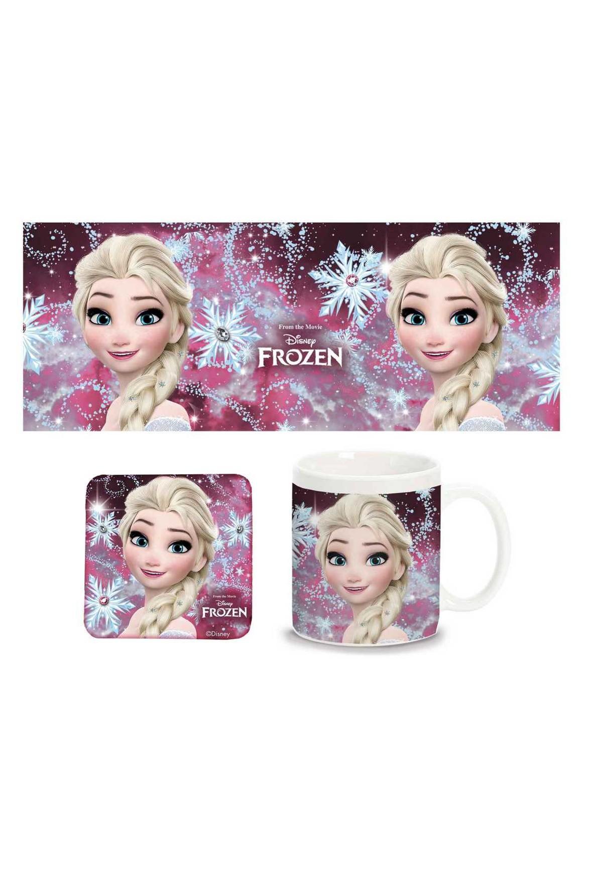 Kubek i podkładka Frozen
