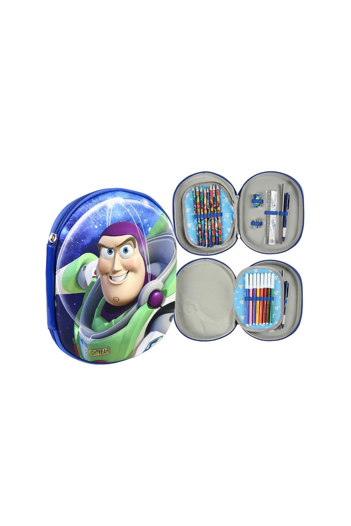 Piórnik 3D z wyposażeniem Toy Story
