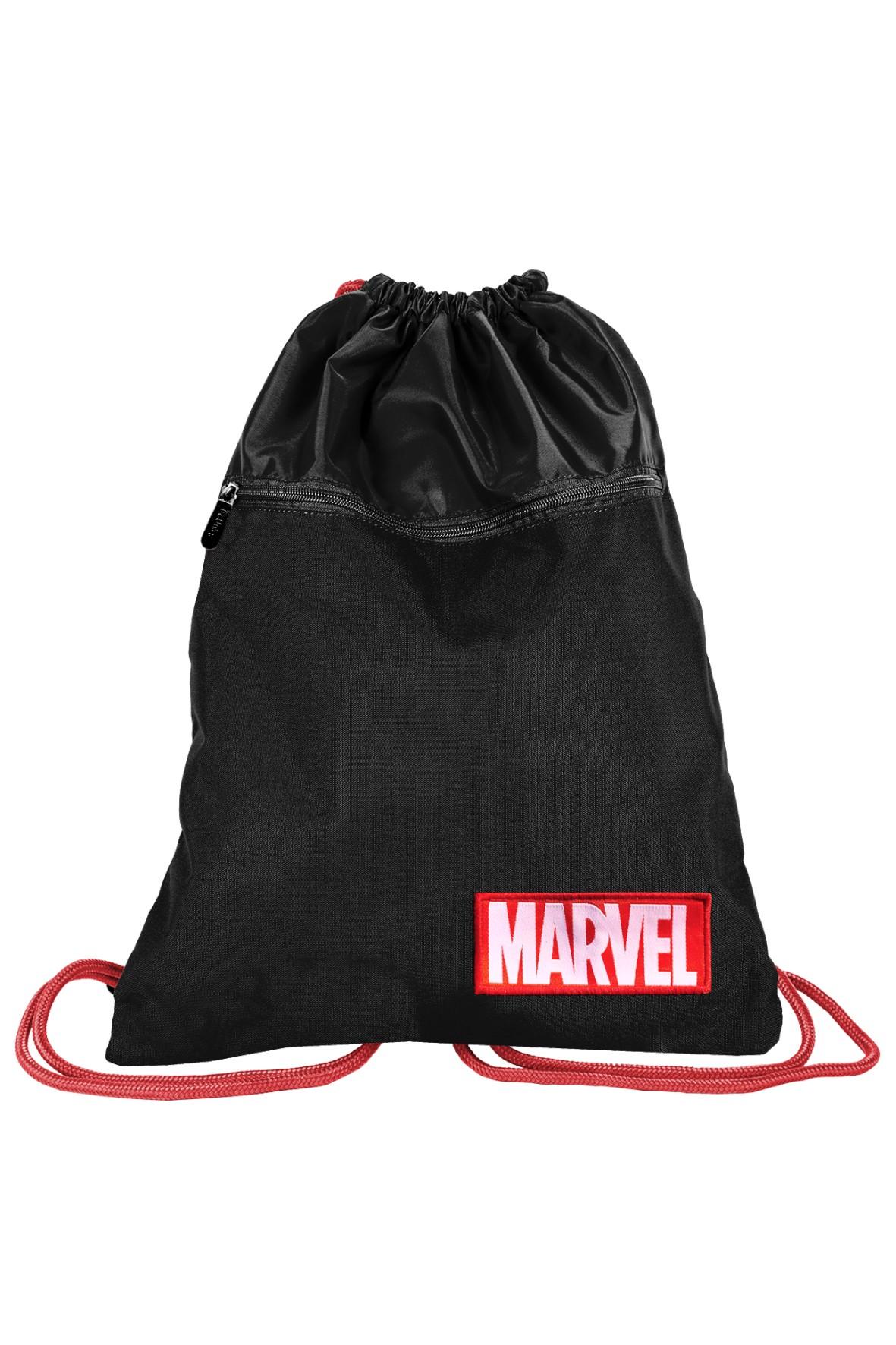 Czarny worek na buty Marvel