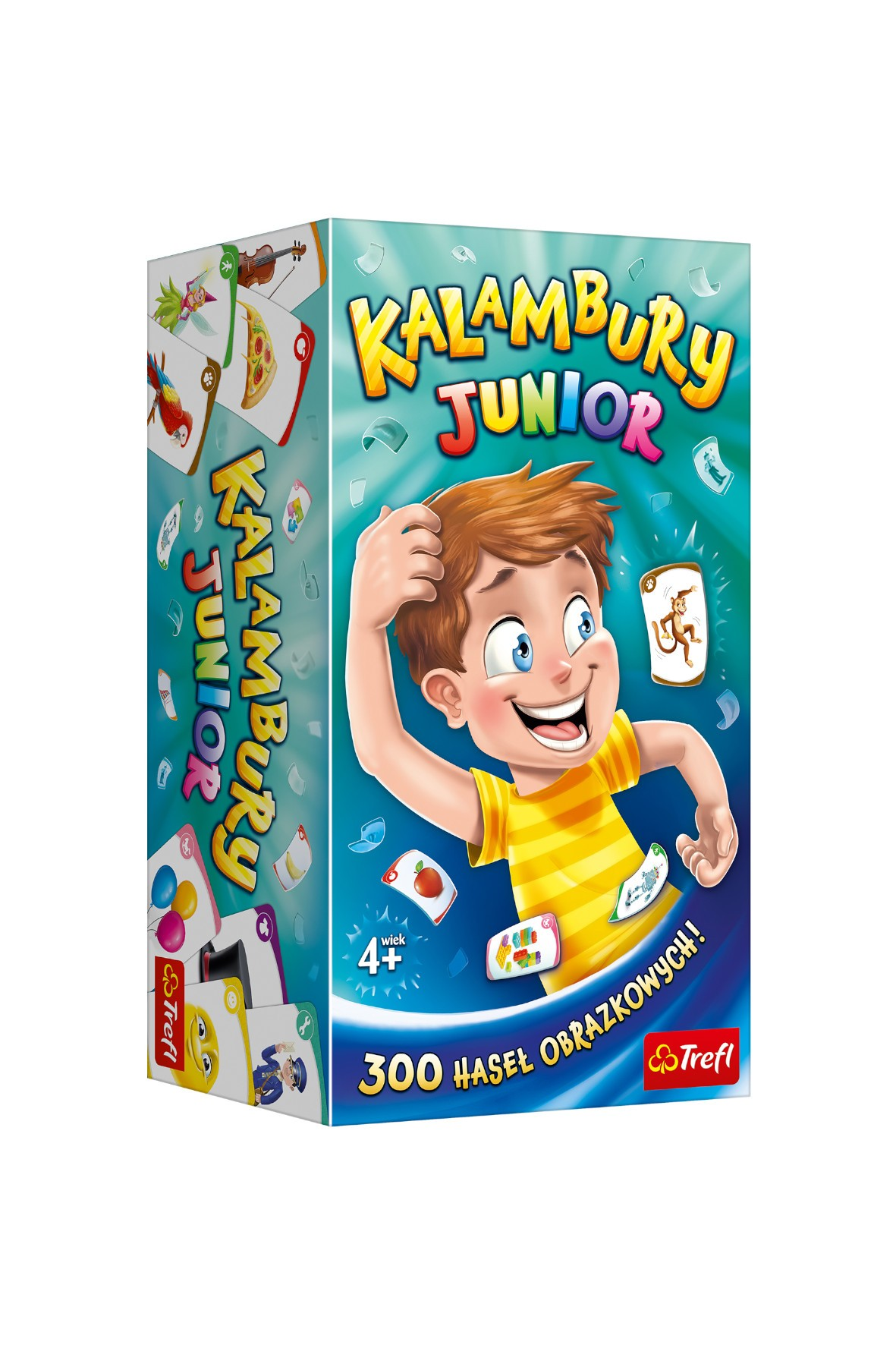 Gra Kalambury Junior Trefl 4+