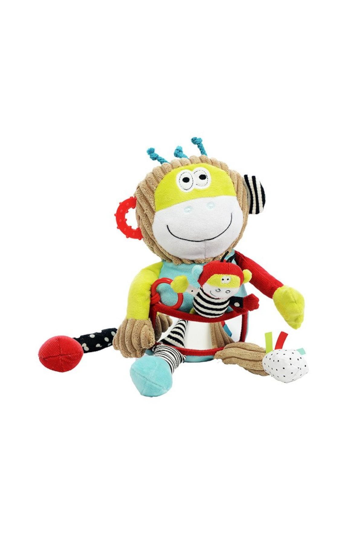 Ucz się i baw z Małpką Dolce- zabawka dla niemowlaka