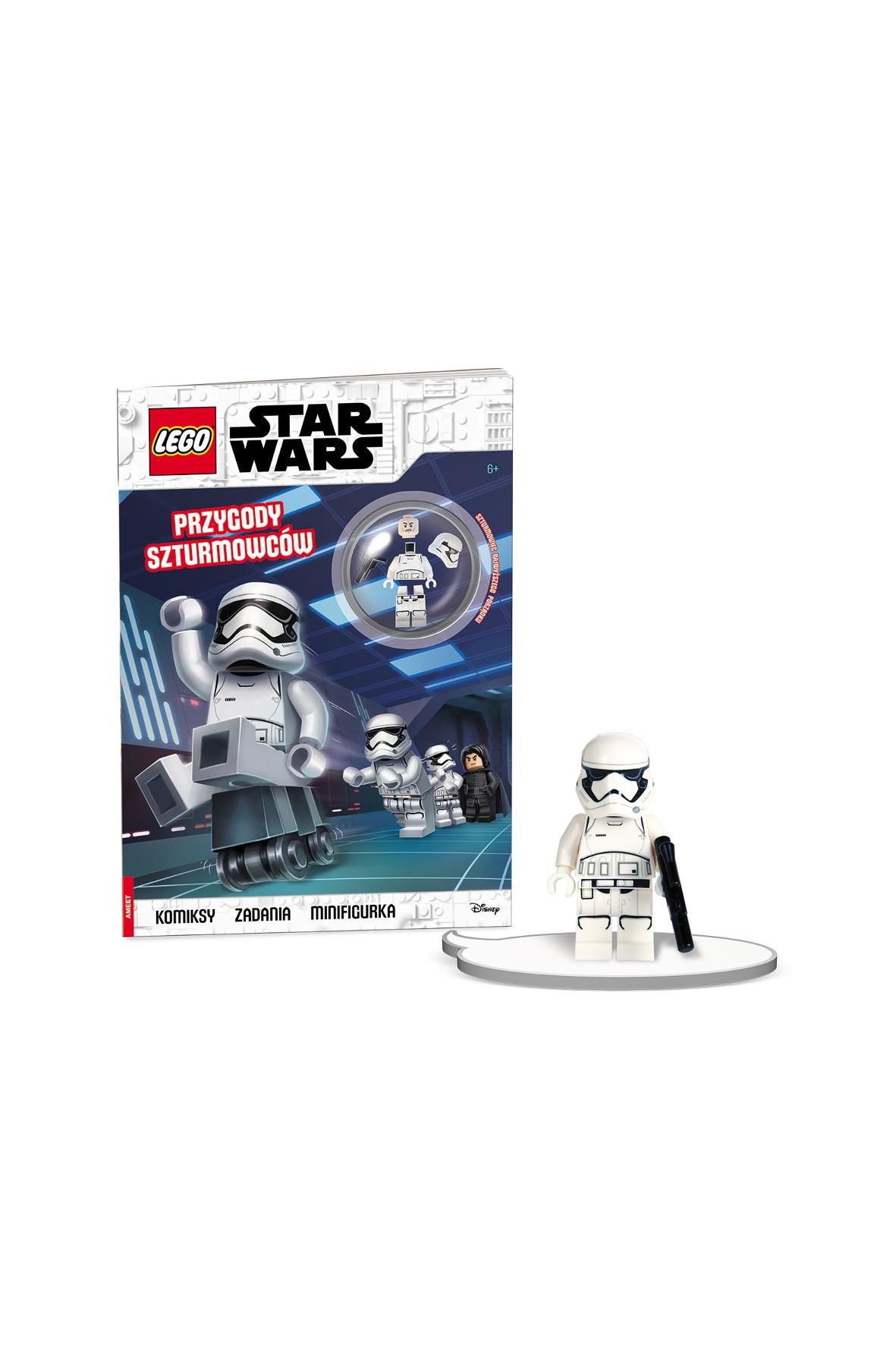 Książeczka Lego Star Wars. Przygody Szturmowców