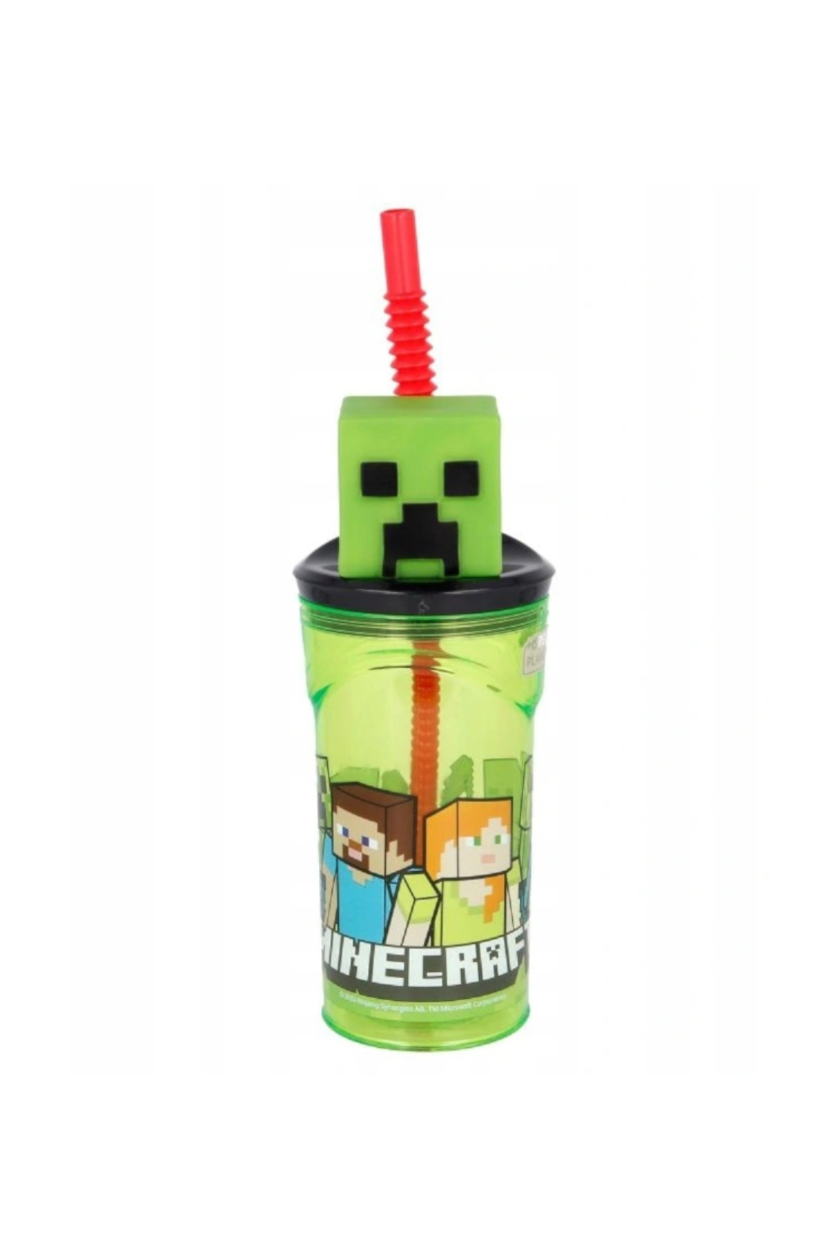 Bidon Minecraft 3D 360 ml