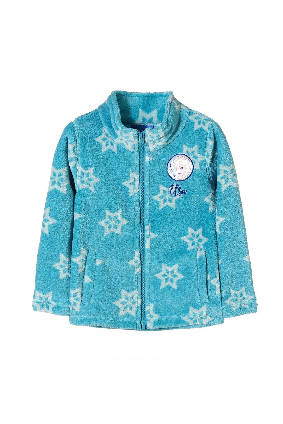 Bluza dziewczęca Kraina Lodu- niebieska