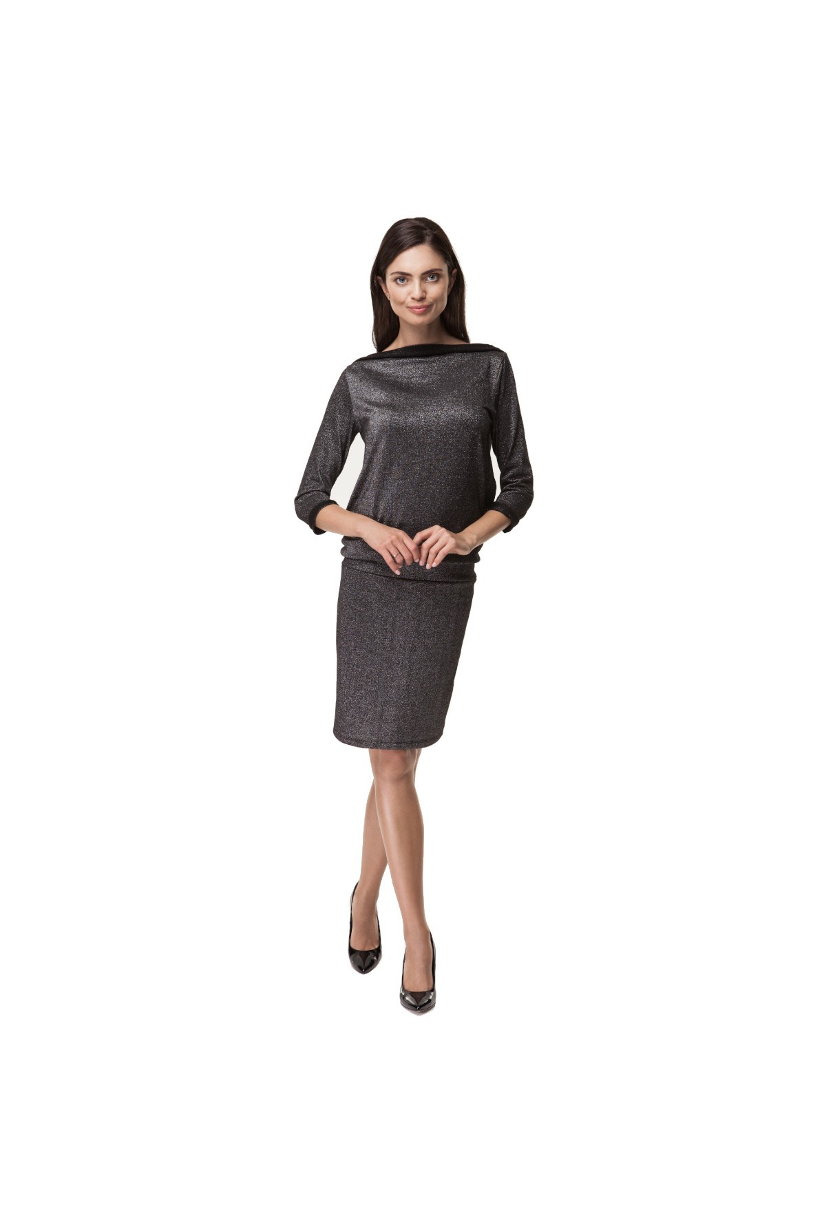 Sukienka Ciążowa Black Lux