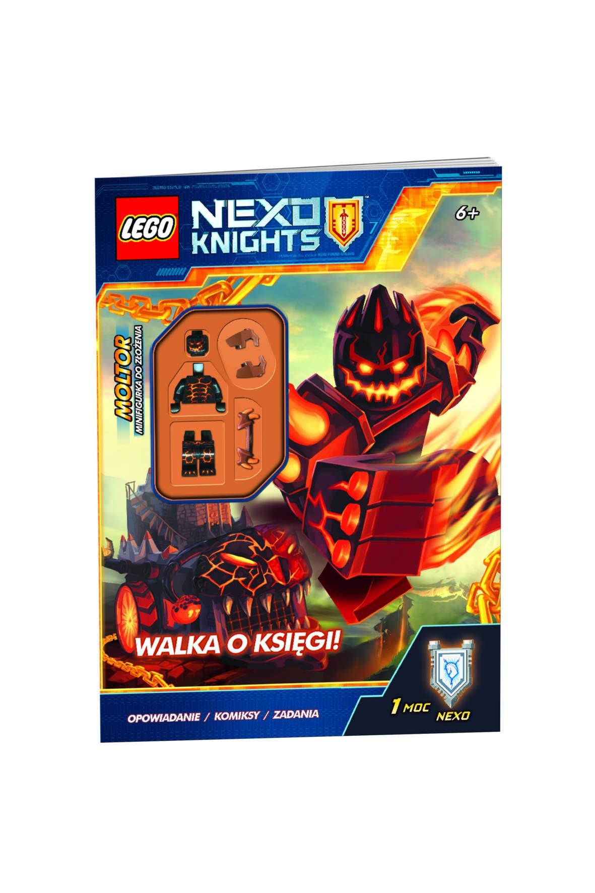 Książka Lego Ninjago