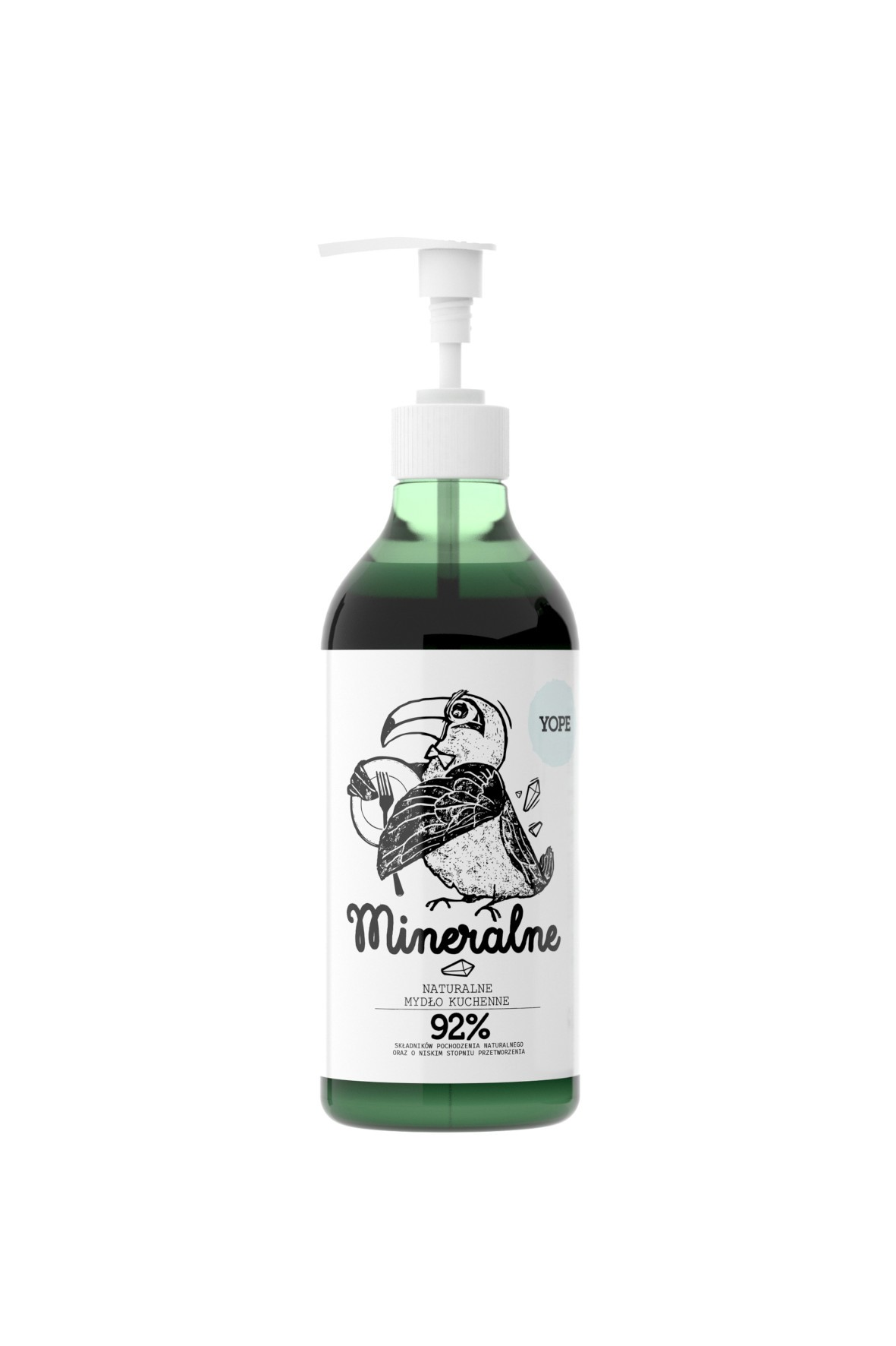 Mydło kuchenne mineralne YOPE 500ml