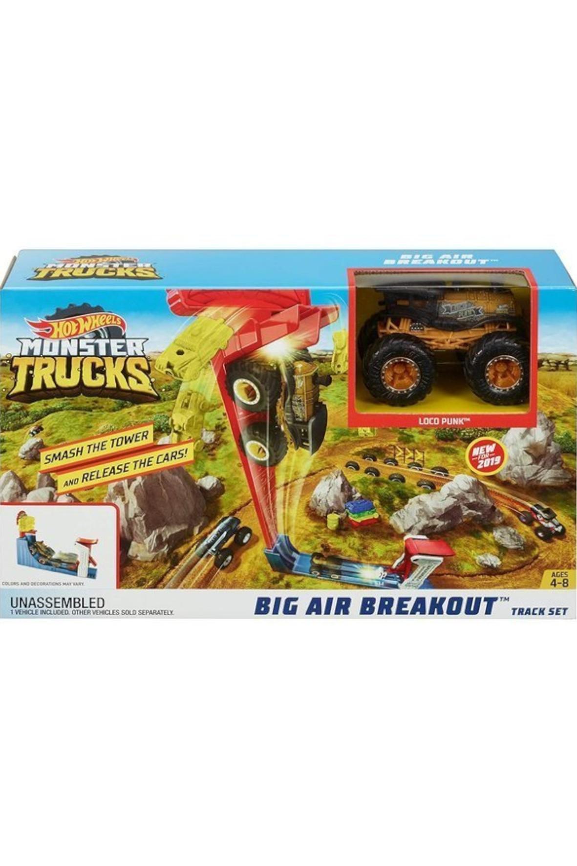 Hot Wheels Monster Trucks Kaskaderski skok wiek 4+
