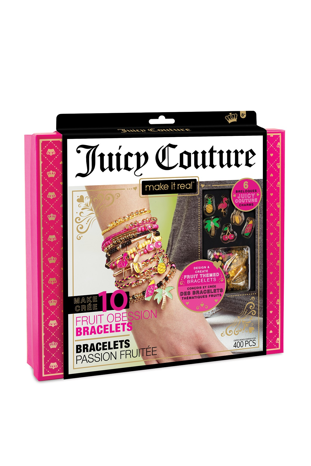 Make it real - Zestaw do tworzenia bransoletek - Juicy Couture Fruit Obsessions