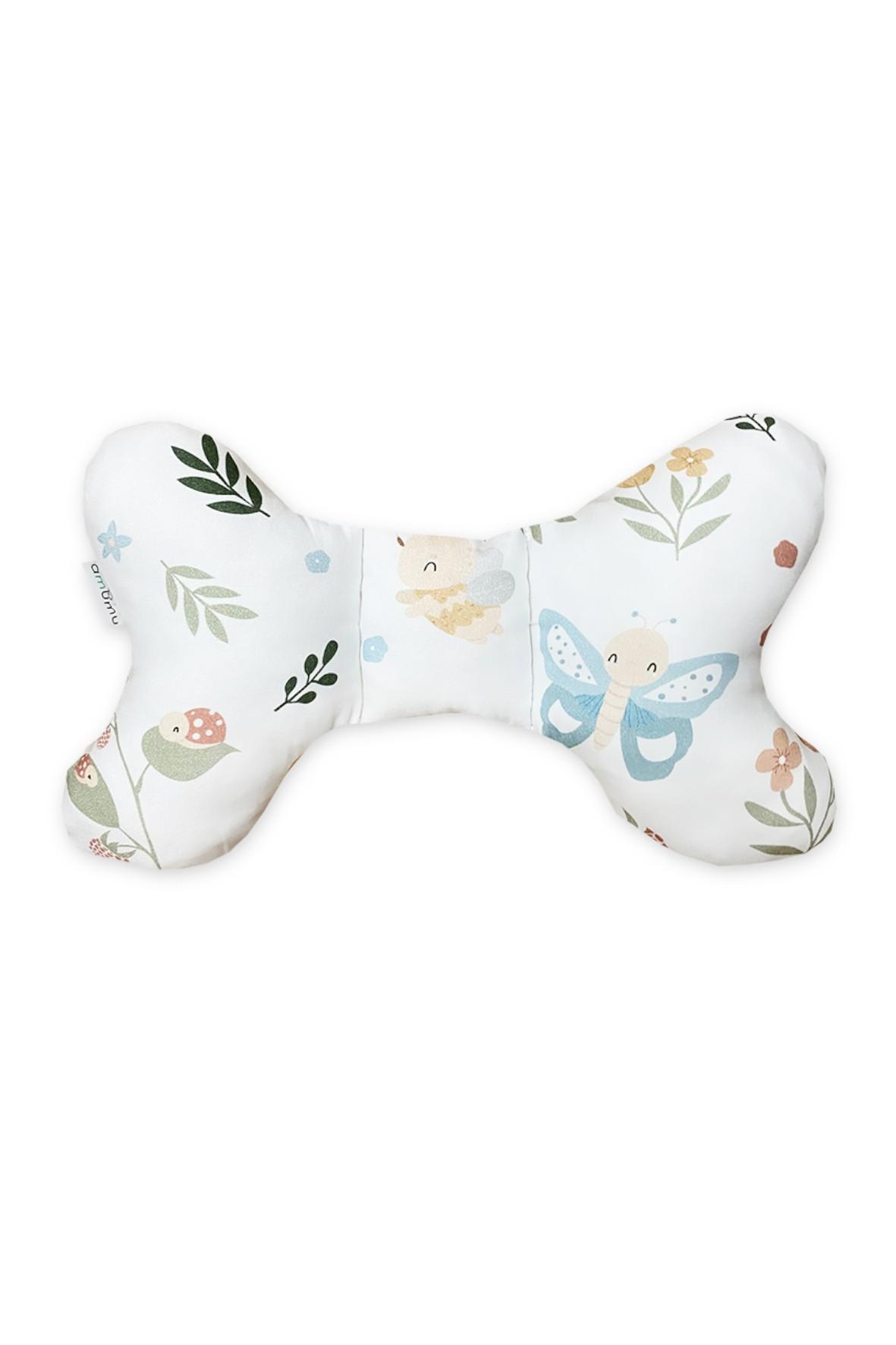 Poduszka motylek -  Kolorowa łąka
