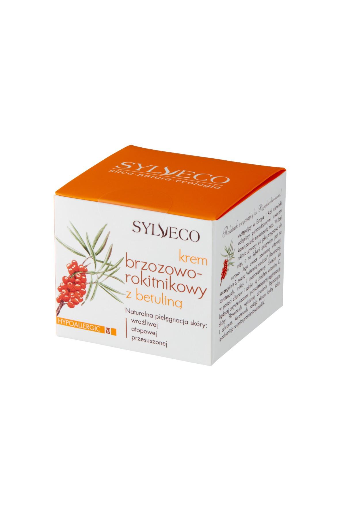 Sylveco Krem brzozowo-rokitnikowy z betuliną 50 ml