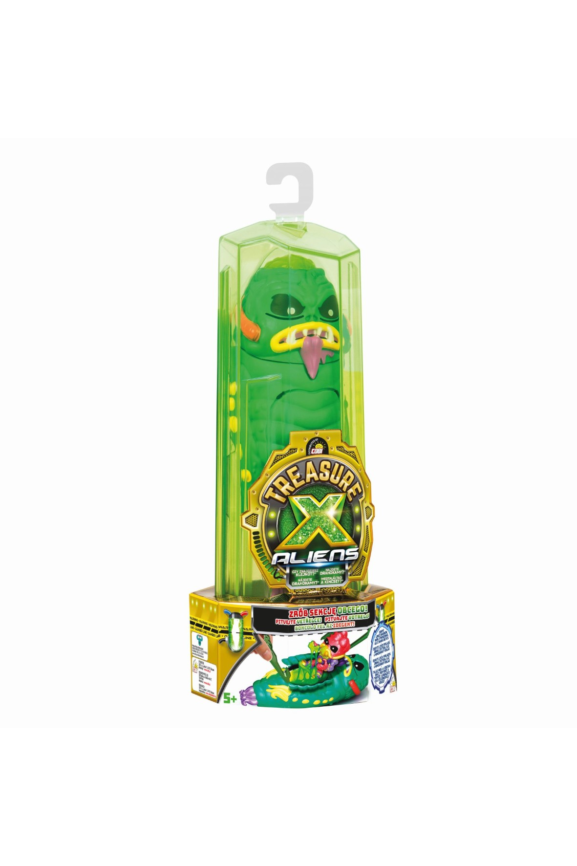 Treasure X Aliens - obcy, zielony