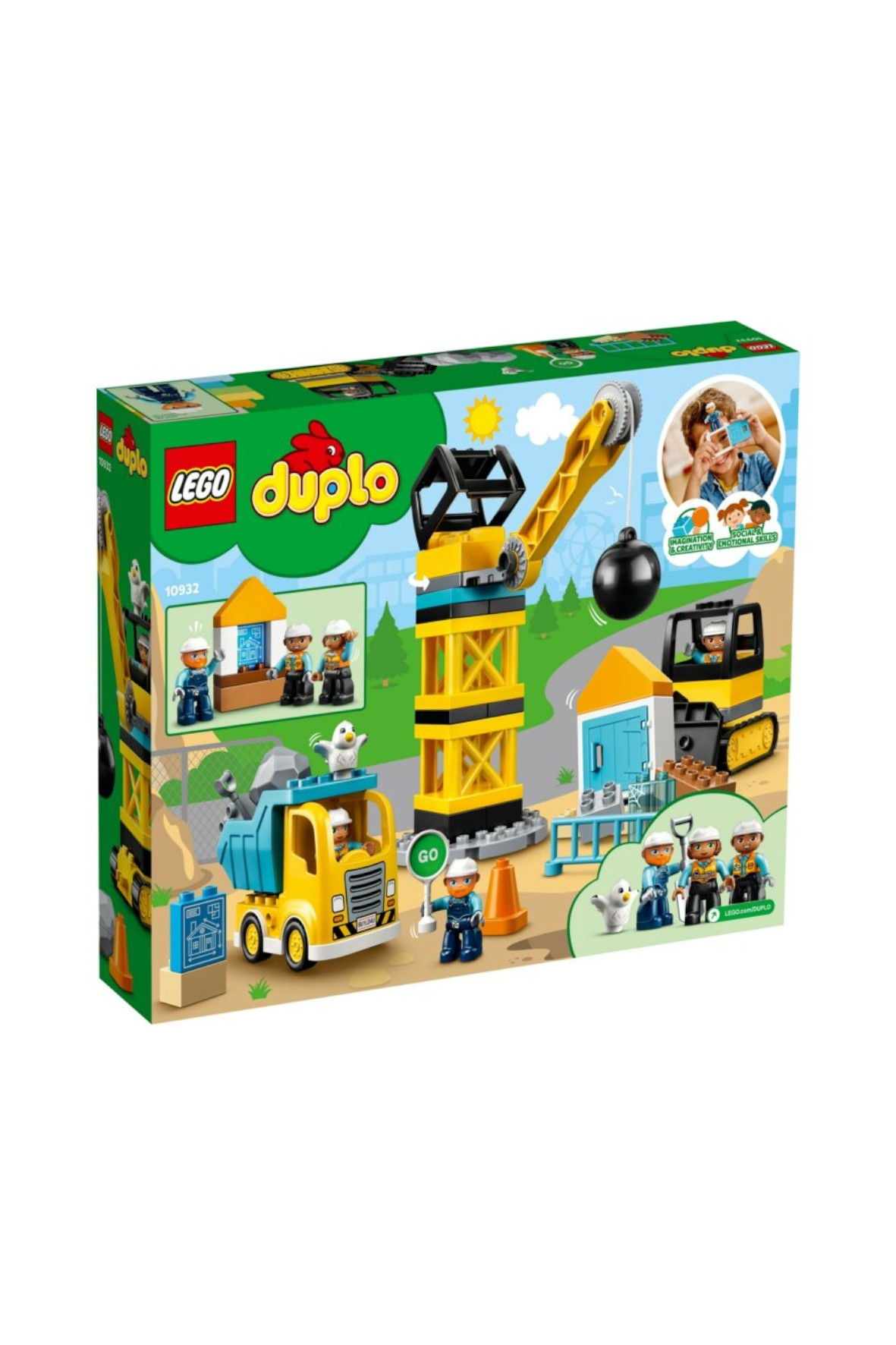 Zestaw LEGO® DUPLO® Construction - wiek +2