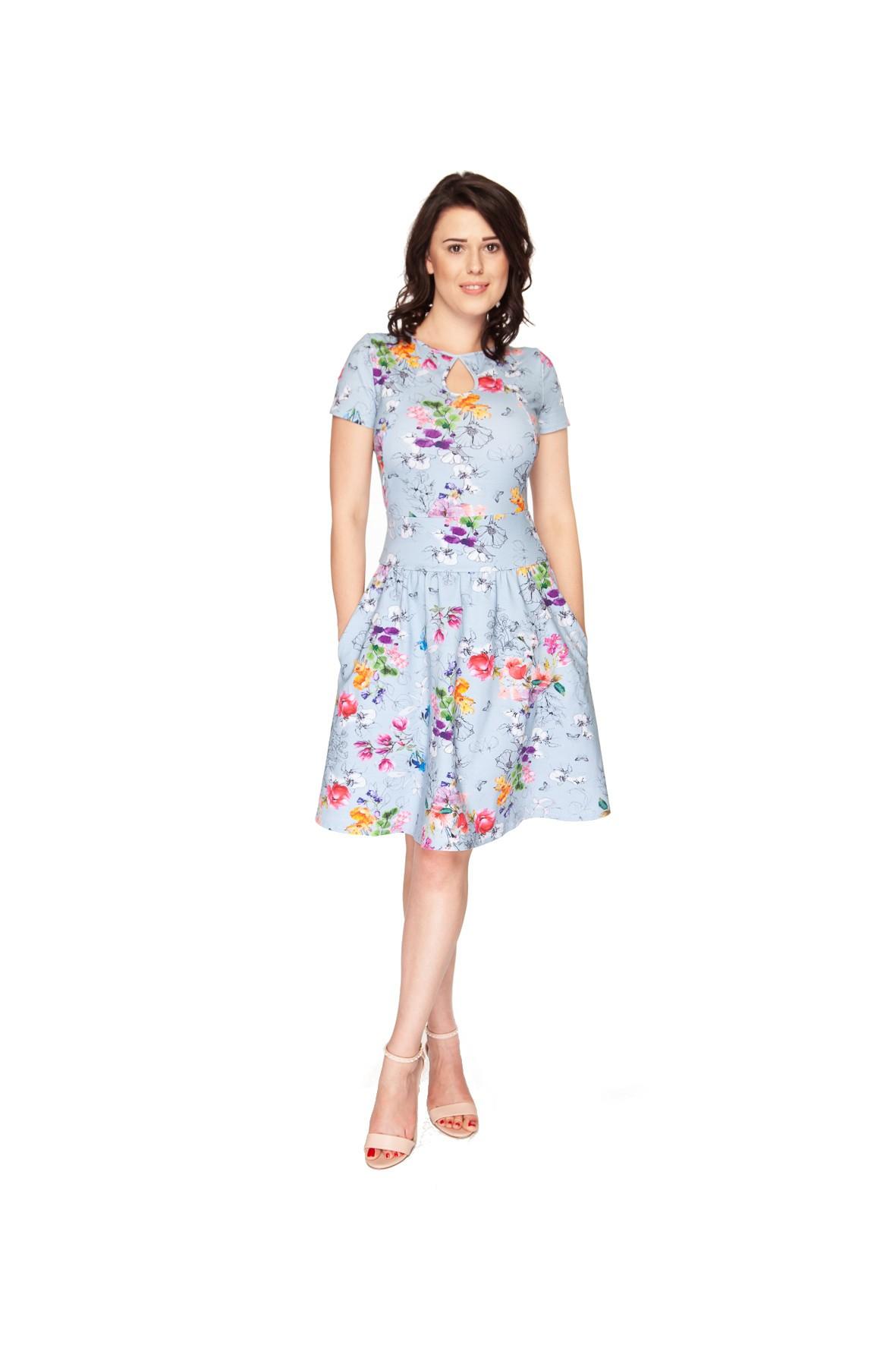 Sukienka ciążowa i do karmienia- ubrania dla mamy