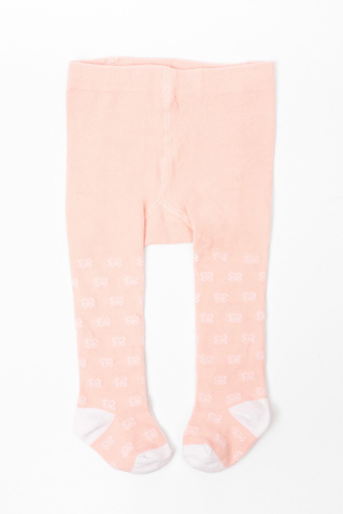 Rajstopy niemowlęce różowe