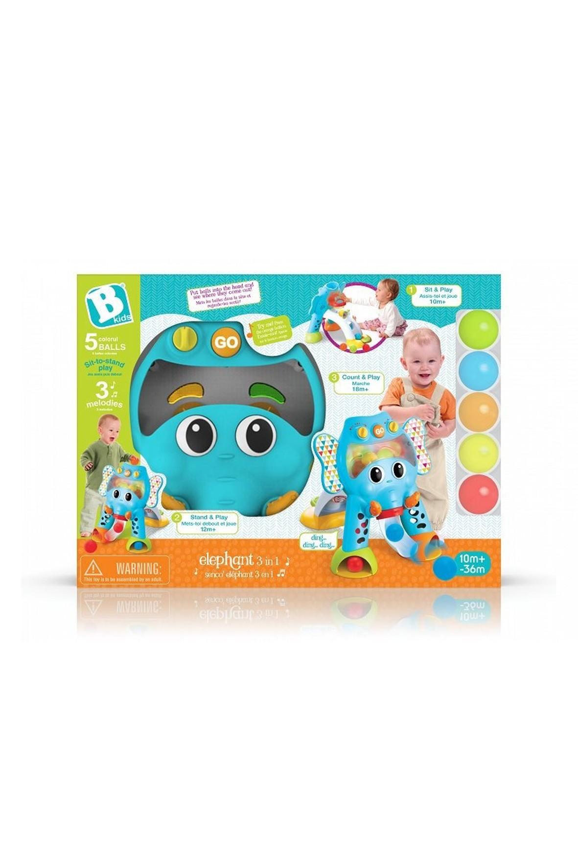 Zabawka dziecięca chodzik Słoń B-kids