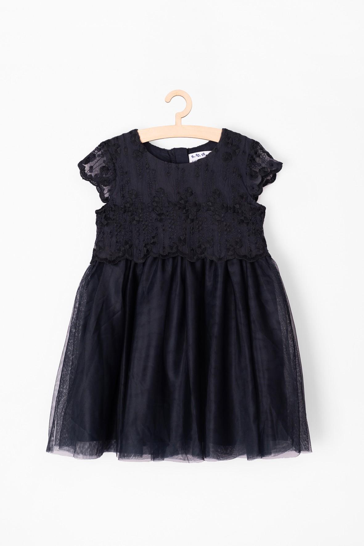 Sukienka niemowlęca elegancka- tiulowa