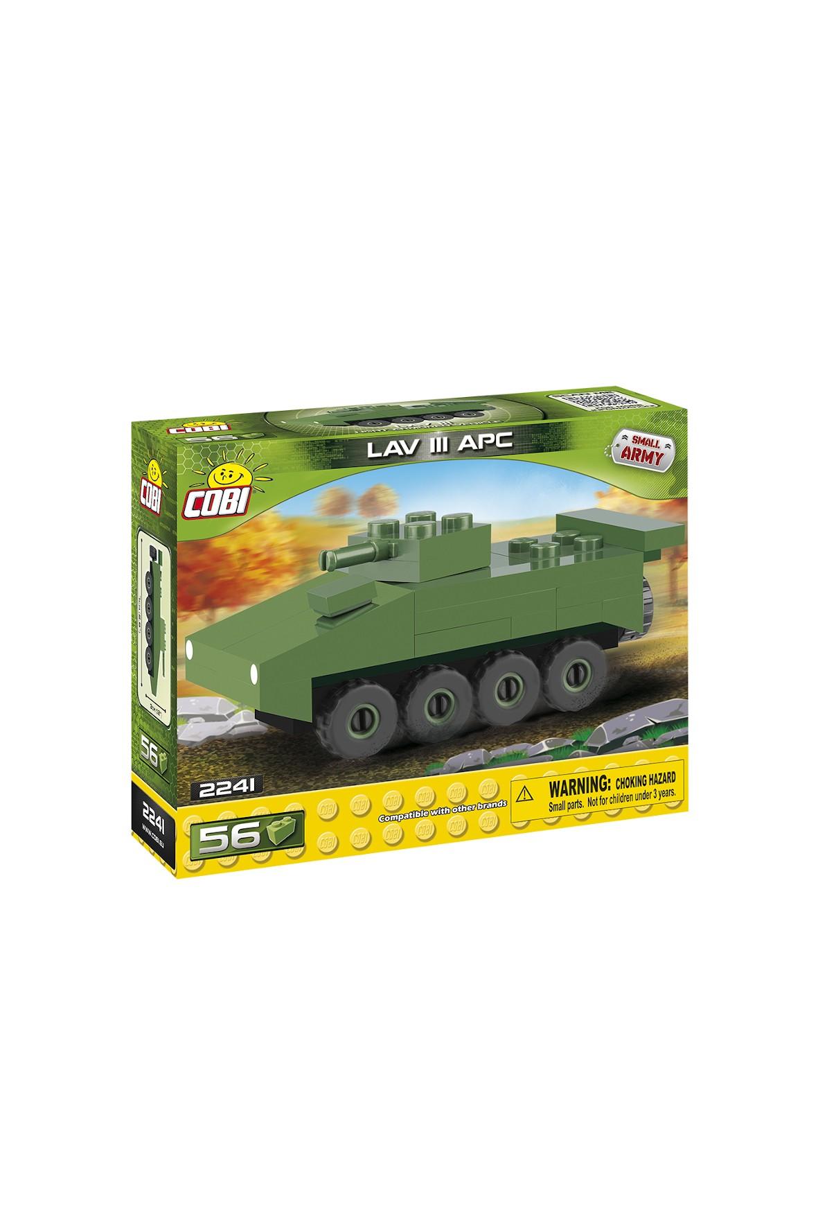 Klocki Small Army Nano Tank Lav III APC 56el