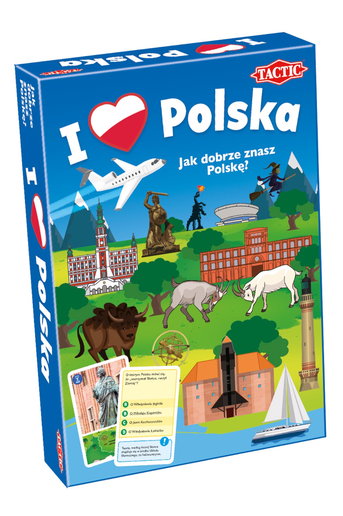 "Gra planszowa ""I Love Polska"" 8+"