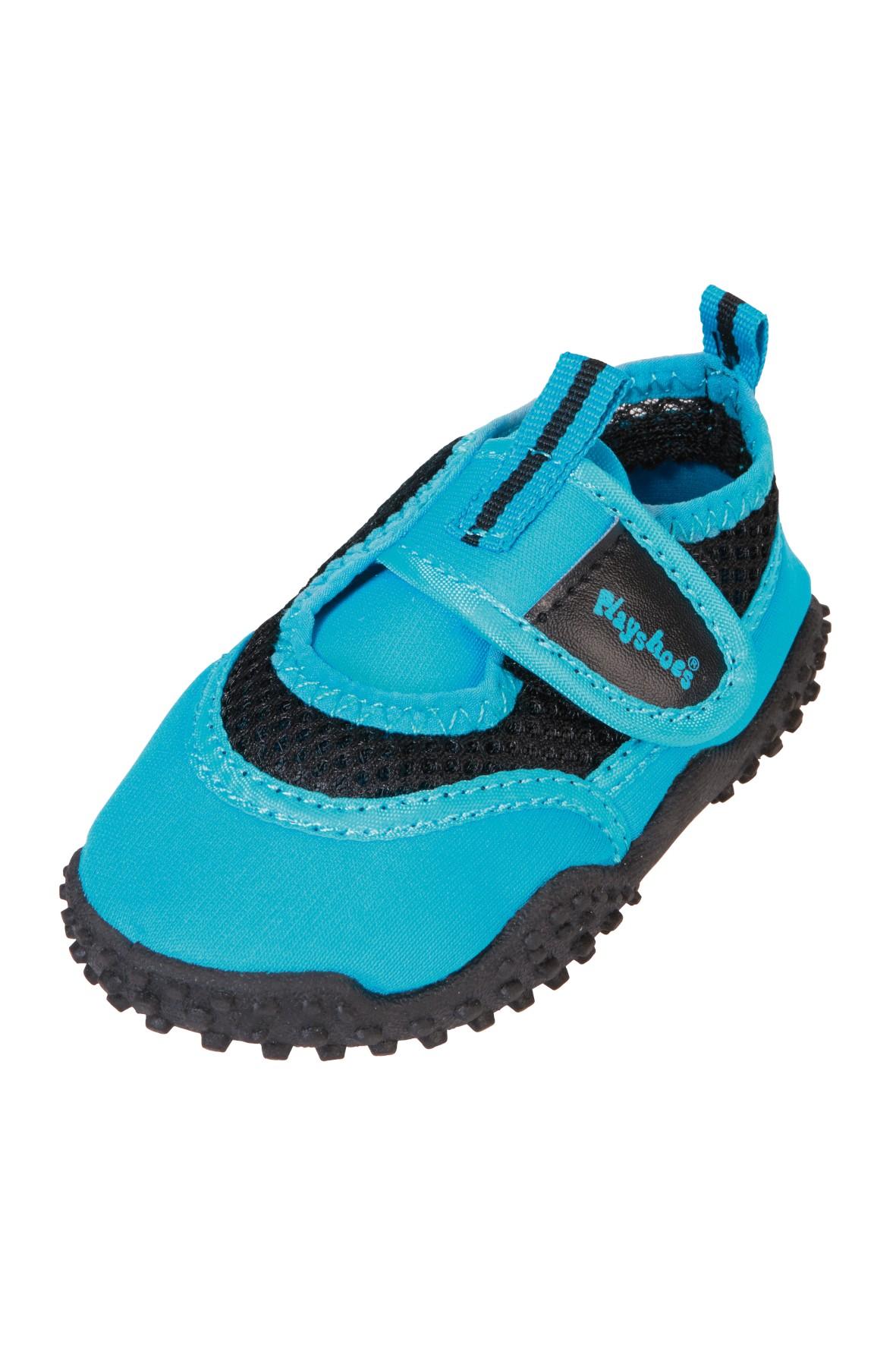 Buty kąpielowe niebieskie na rzep