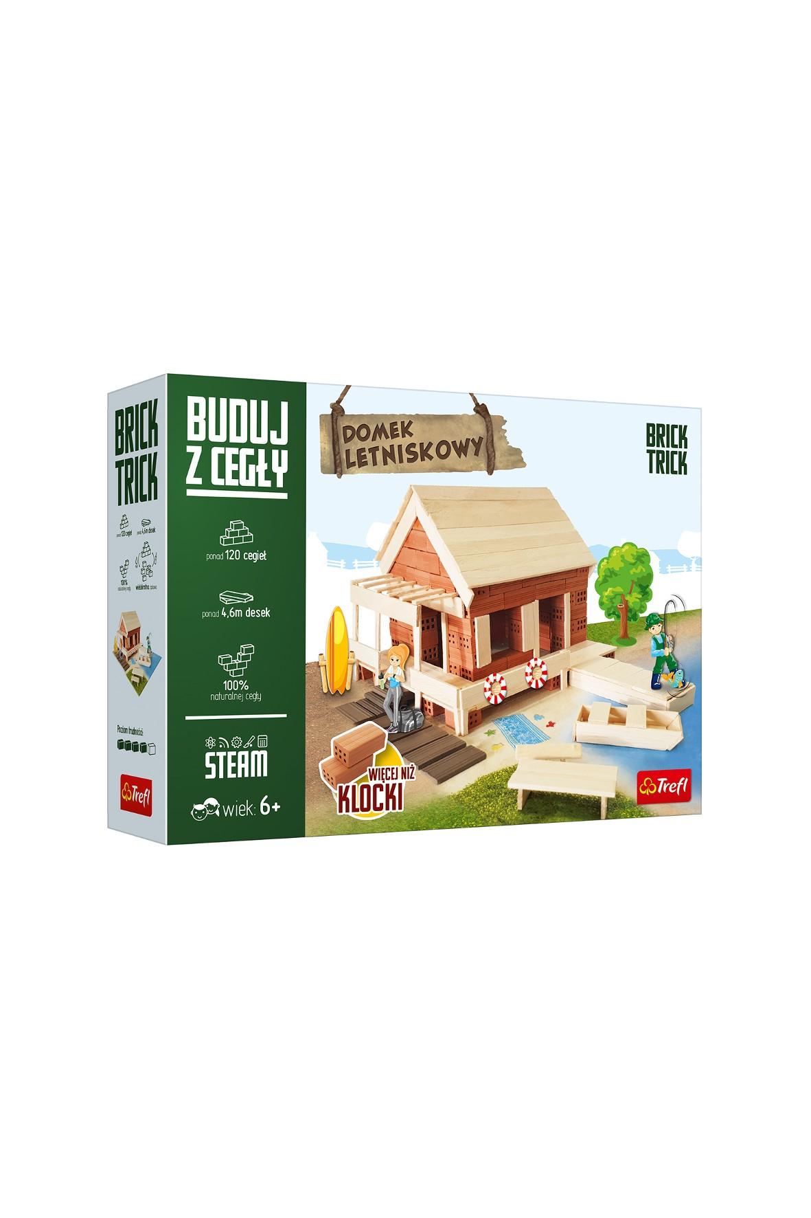 Zestaw do budowania Brick Trick - Domek Letniskowy