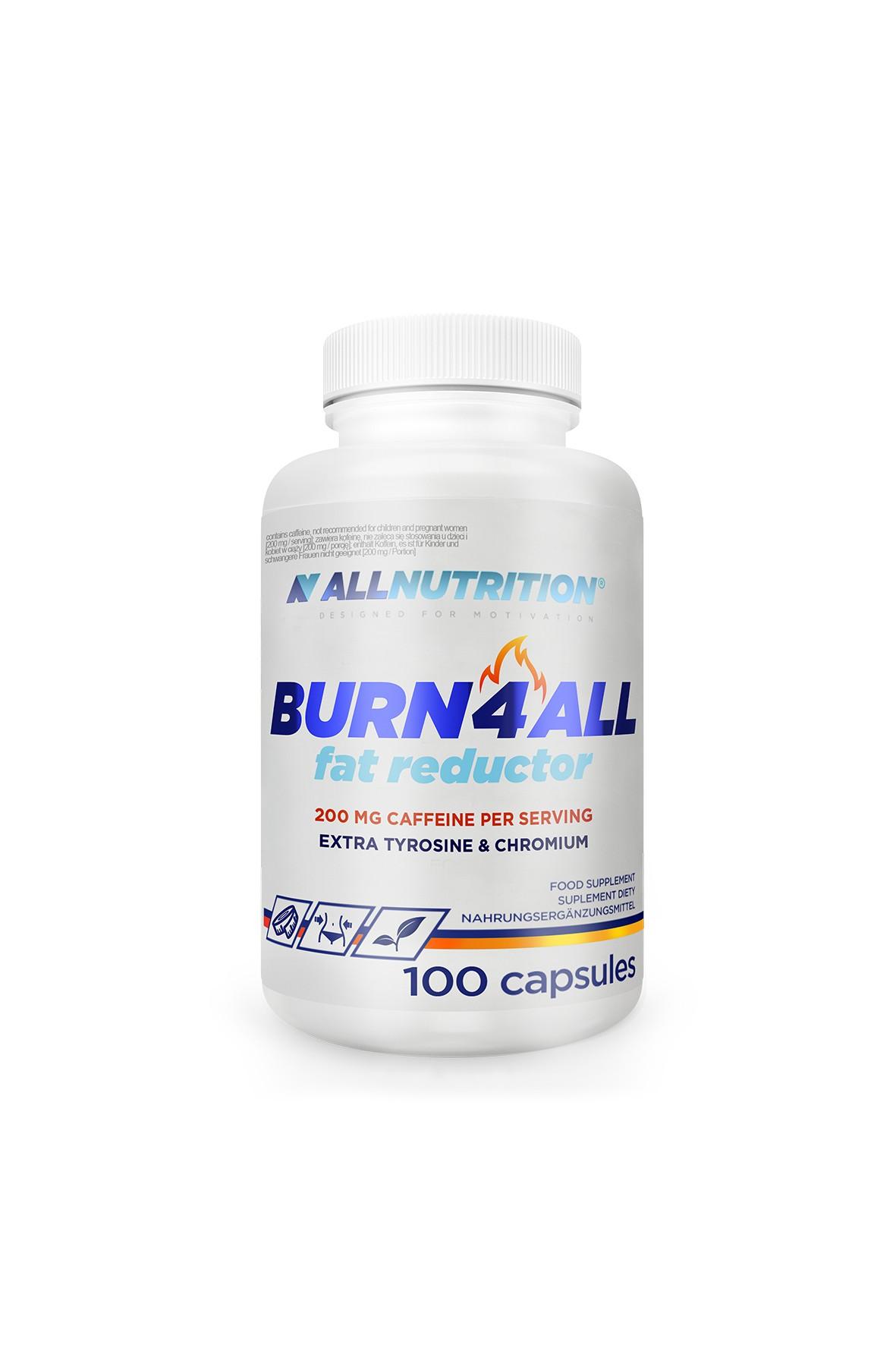 Suplementy diety - Allnutrition Burn4all Reductor - Spalacz tłuszczu - 100 kapsułek