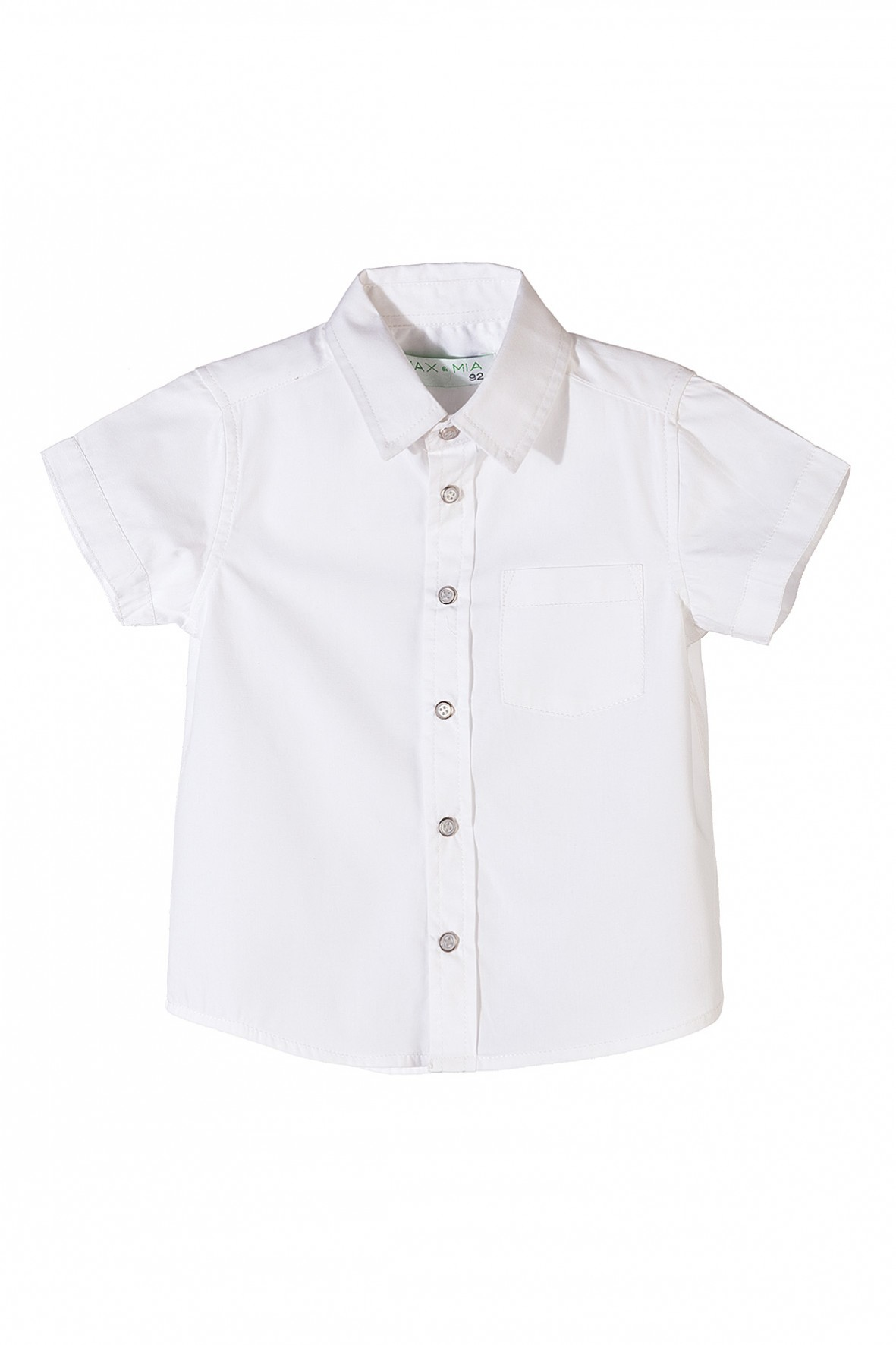 Koszula chłopięca krótki rękaw