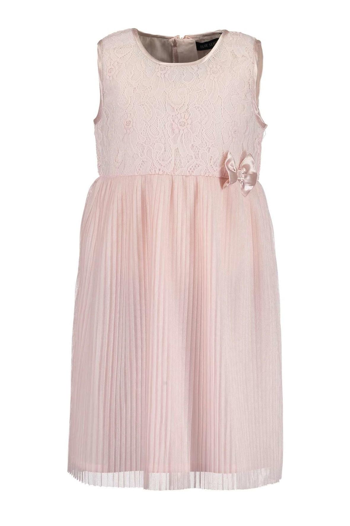 Elegancka sukienka dziewczęca- różowa