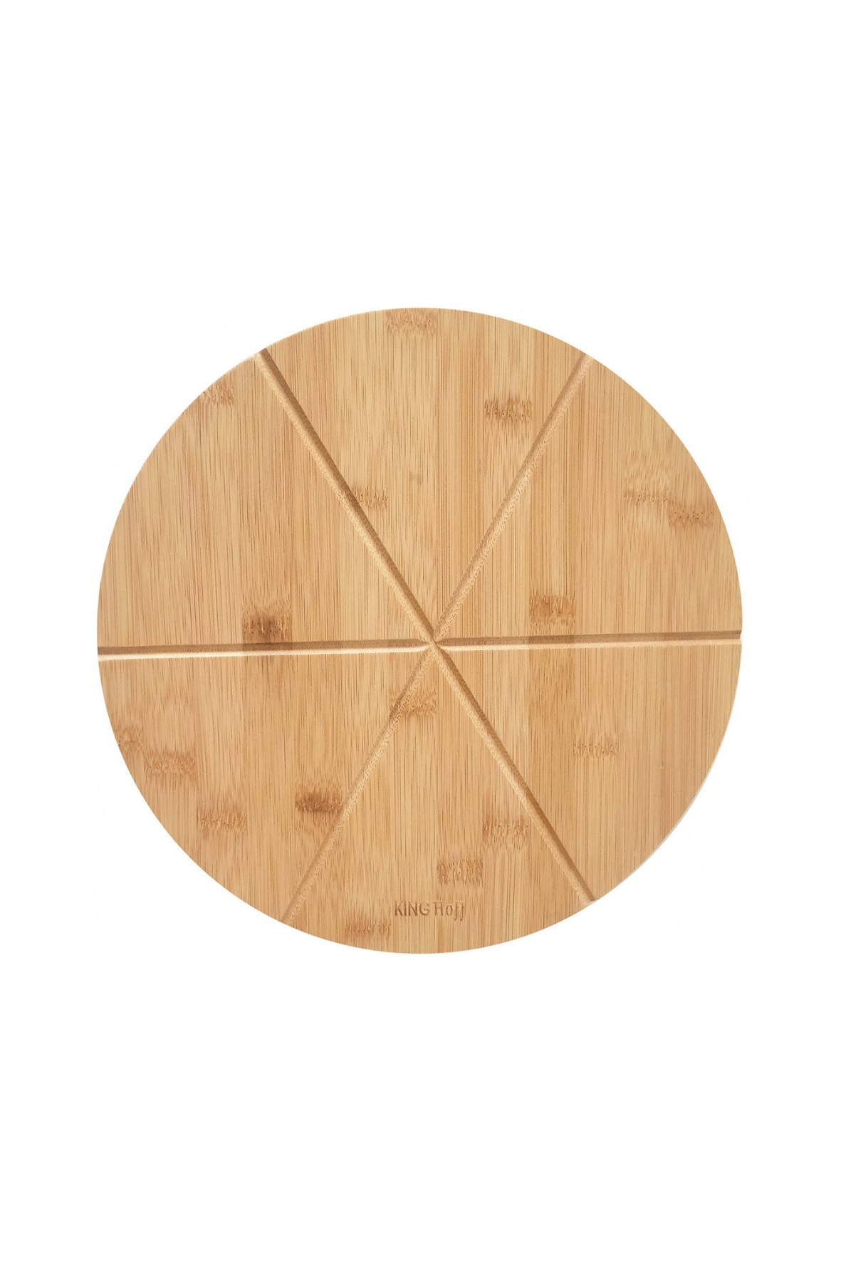 KINGHOFFTaca deska bambusowa do pizzy 35cm