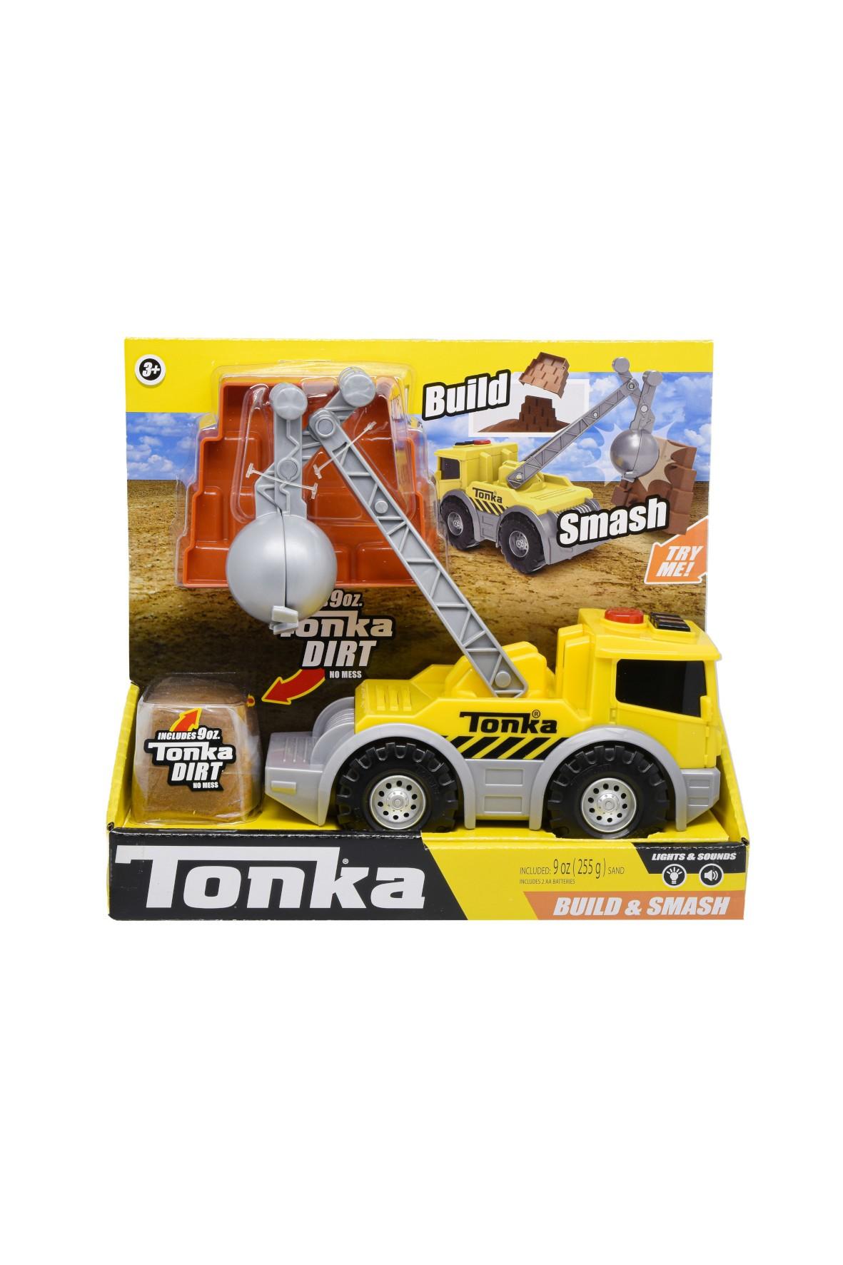 Tonka Build & Smash L&S Ciężarówka Zestaw do zabawy wiek3+