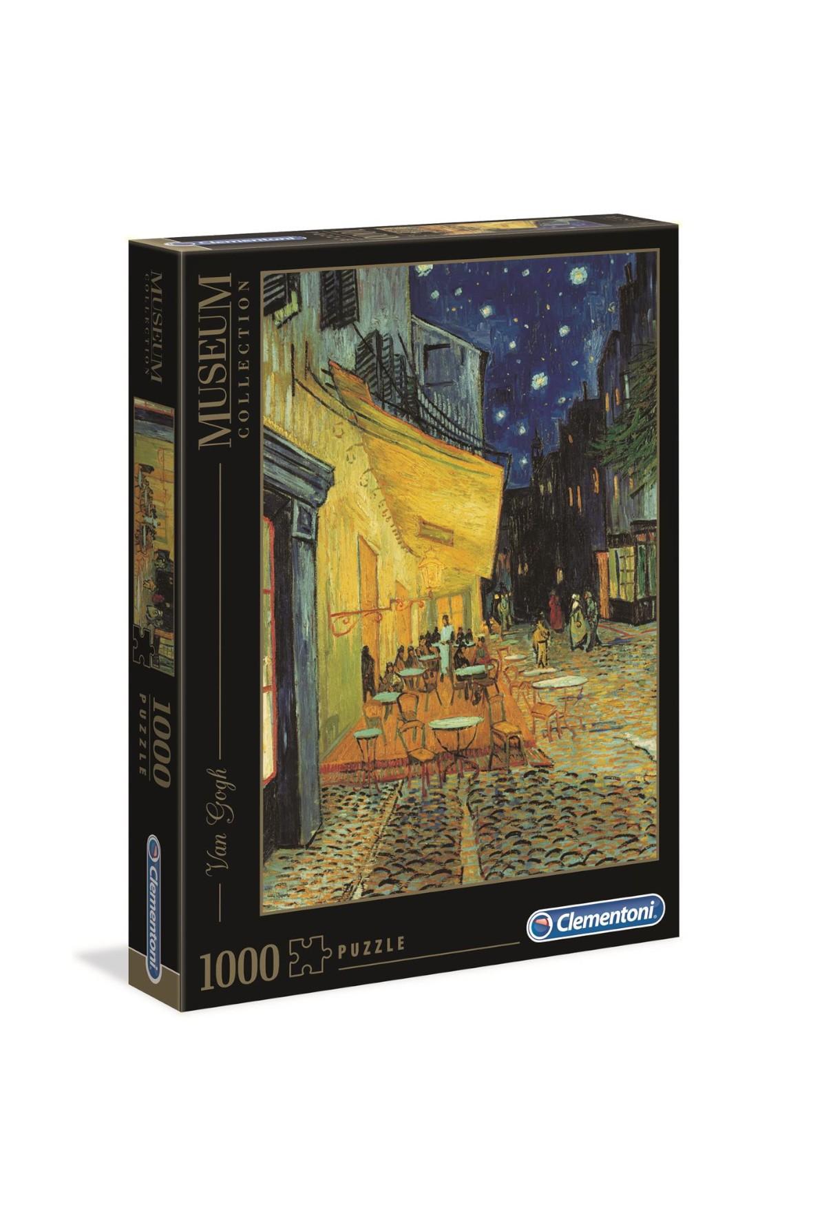 Puzzle Museum Van Gogh Taras kawiarni w nocy - 1000 el
