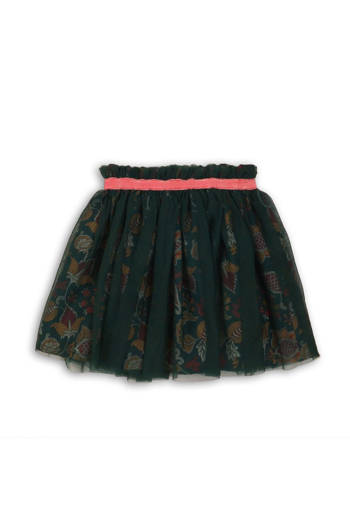 Tiulowa spódniczka dla dziewczynki- granatowa