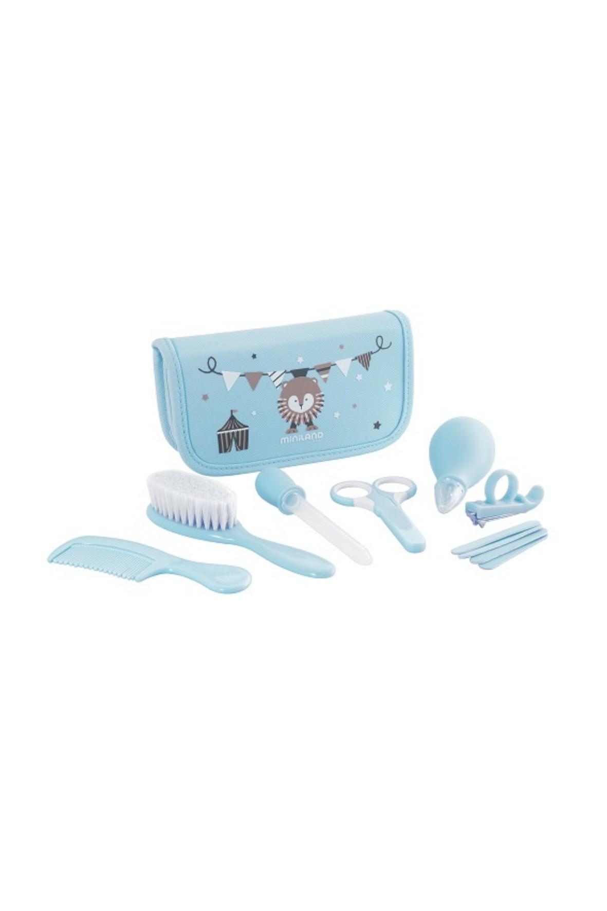 Zestaw do pielęgnacji dziecka (7 produktów) - niebieski
