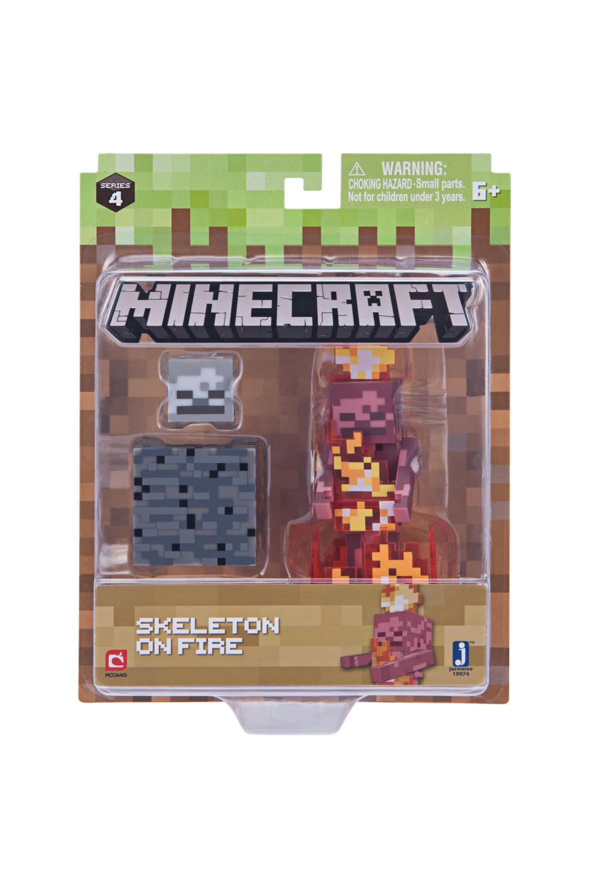 Figurka Skeleton w ogniu Minecraft